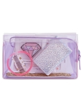IN AWE OF YOU BY AWESOMENESSTV translucent mini beauty pouch, $19, exclusively at Macy's. (Photo: Business Wire)