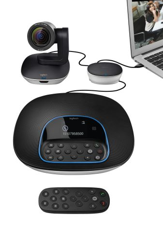 Logitech GROUP Video Conferencing System (Photo: Business Wire)