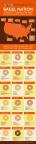 Bagel Nation infographic, courtesy of Thomas' Bagels.