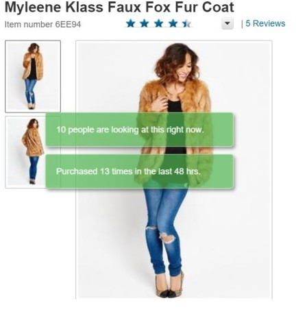 Real-time 'social proof' messages help convert significantly more online browsers into buyers. (Graphic: Business Wire)