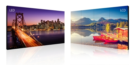 ISE: Planar and Leyard Showcase Commercial Displays, LED and LCD video walls