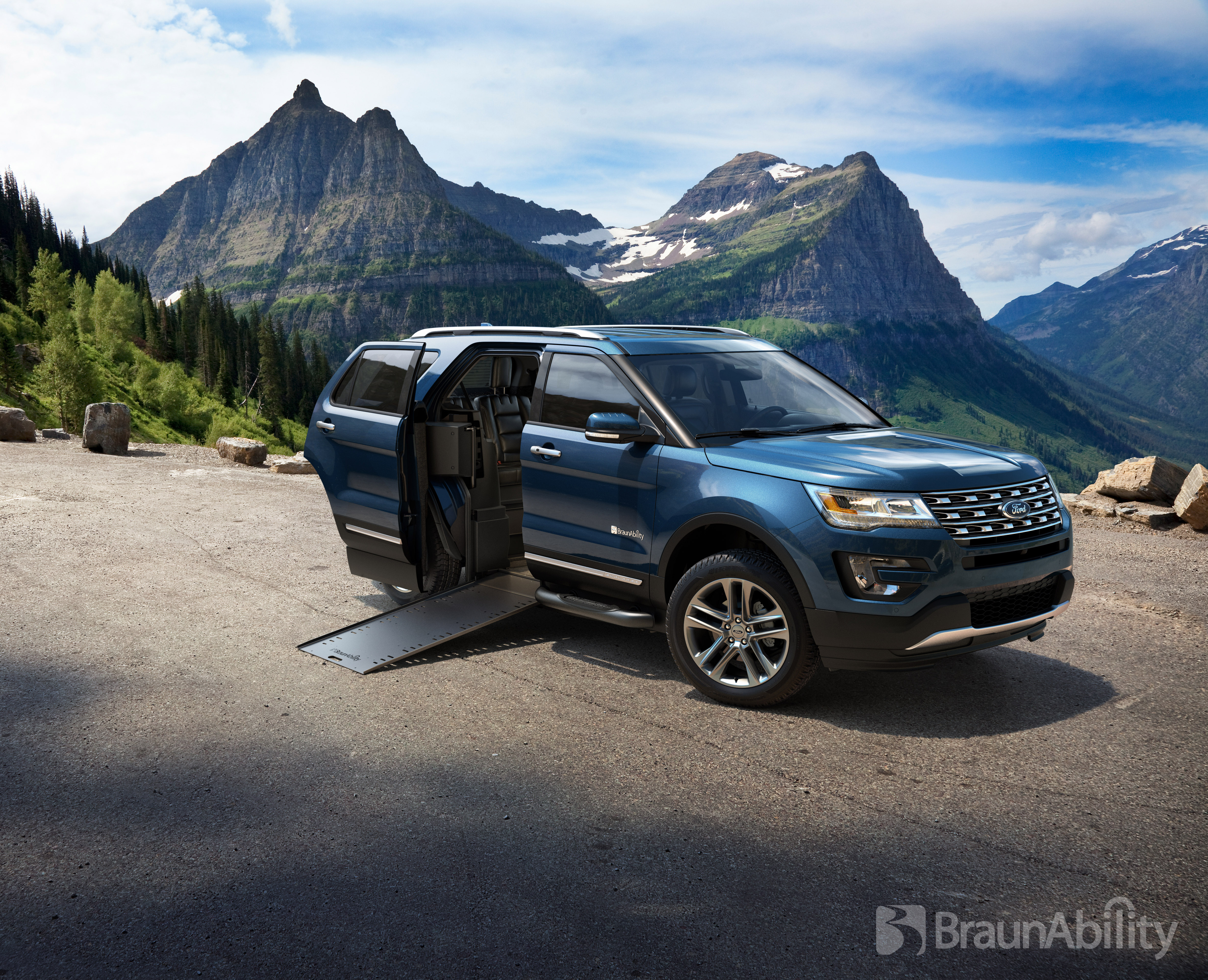 BraunAbility MXV u2013 a Ford Explorer Conversion u2013 Is Worldu0027s First Wheelchair-Accessible SUV | Business Wire & BraunAbility MXV u2013 a Ford Explorer Conversion u2013 Is Worldu0027s First ... markmcfarlin.com