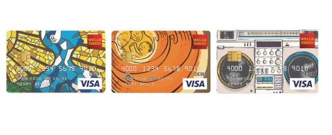 Atlanta-based artist, Keith Rosemond II, designs original debit/credit card art for Wells Fargo's Card Design Studio(R) to celebrate African American culture as part of company's #MyUntold storytelling collection. (Graphic: Business Wire)