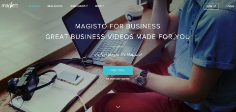Magisto for Business (Photo: Business Wire)