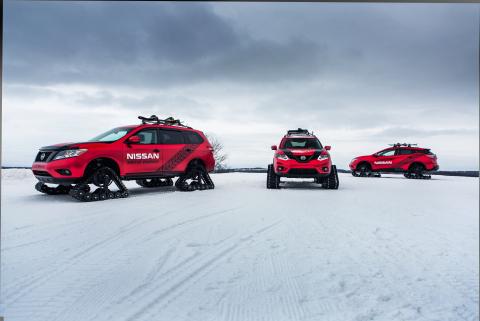 Nissan Winter Warrior Concepts (Photo: Business Wire)