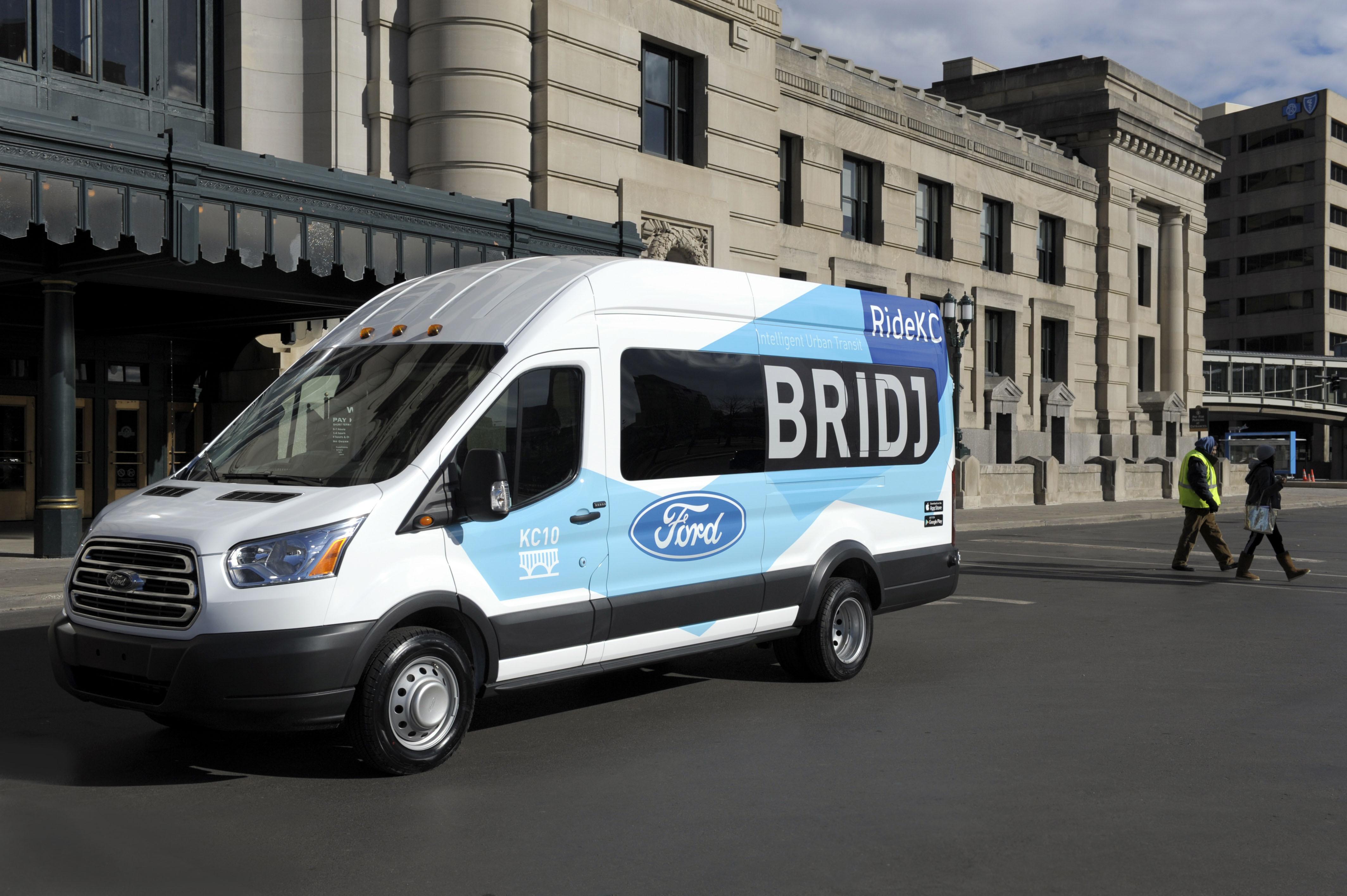 Bridj, Kansas City Area Transportation Authority Launch