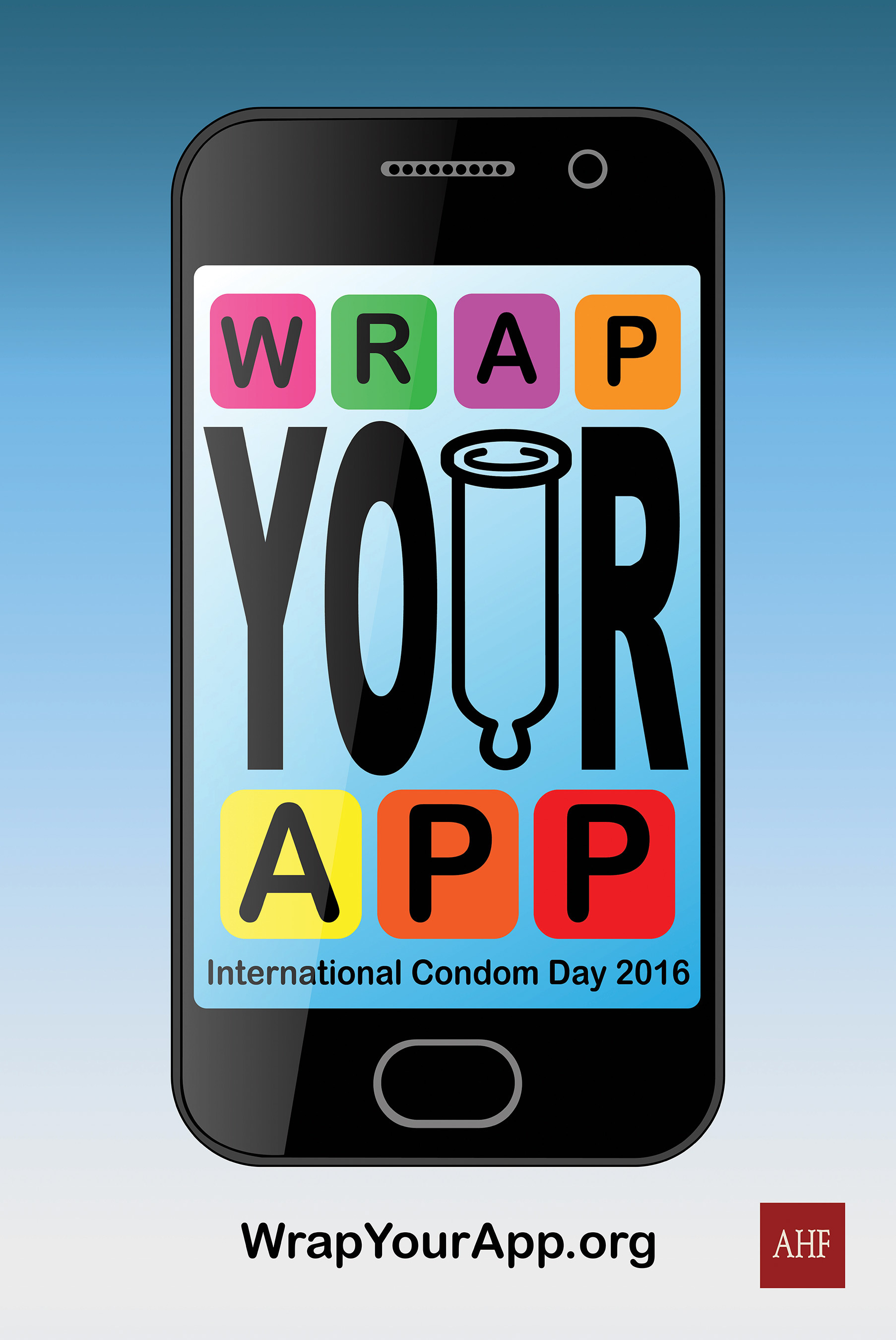 """For International Condom Day, Feb. 13th, AHF Says, """"Wrap Your App!""""    Business Wire"""