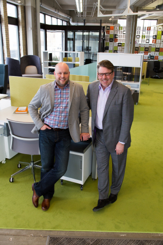 Aaron Eggert, President (left) Joel Peterson, CEO (right) (Photo: Business Wire).