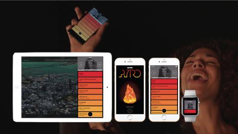 Serato Pyro showcases the new music app on multiple devices. (Graphic: Serato)