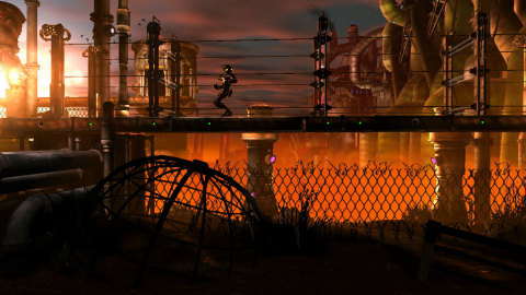 Oddworld: New 'n' Tasty brings the original classic Oddworld: Abe's Oddysee game to the Wii U console with a fully ground-up remake, featuring amazing next-gen visuals, reworked game play and new audio and music (Photo: Business Wire)