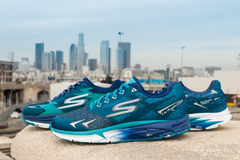 Official 2016 Skechers Performance Los Angeles Marathon Footwear (Photo: Business Wire)