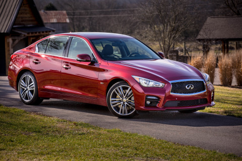 Infiniti Q50S 3.0t (Photo: Business Wire)