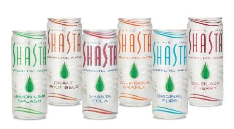 Shasta's Sparkling Water. (Photo: Business Wire)
