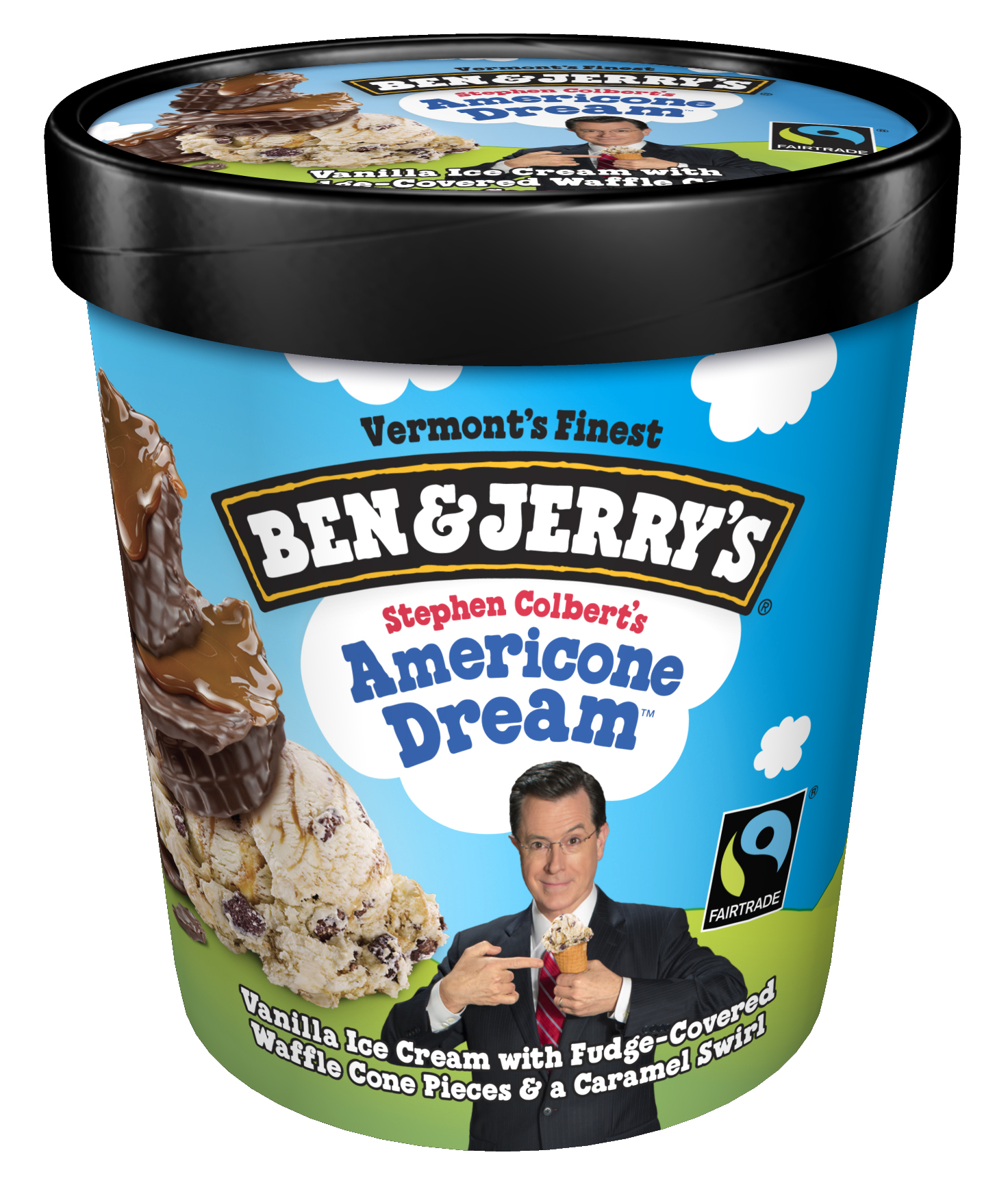 Spend Valentine S Day With Your 3 Favorite Guys Stephen Ben And Jerry Business Wire Ben & jerry's churned up this euphoric creation honoring the late show you see, he donates proceeds from the sale of americone dream to charity. favorite guys stephen ben and jerry