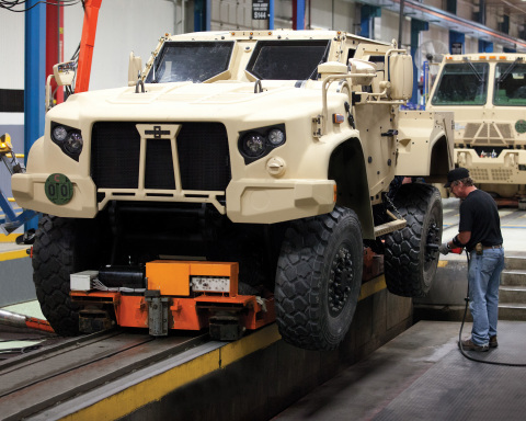 The JLTV program is cited among the Department of Defense's highest modernization priorities. (Photo: Business Wire)