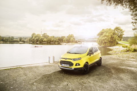 Ford of Europe's drive to increase its SUV sales continued in January, with EcoSport compact SUV sal ...