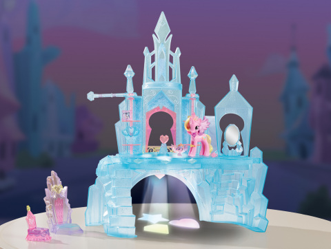 MY LITTLE PONY EXPLORE EQUESTRIA CRYSTAL EMPIRE Playset (Available: Fall 2016)(Photo: Business Wire)