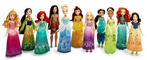 DISNEY PRINCESS ROYAL SHIMMER FASHION Doll Assortment (Available: Spring 2016)(Photo: Business Wire)