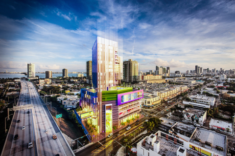 Hilton Worldwide (NYSE: HLT) today announced that HES Group's Triptych Miami Design District will join Curio – A Collection by Hilton when it opens during the 2017 - 2018 high season. (Photo: Business Wire)