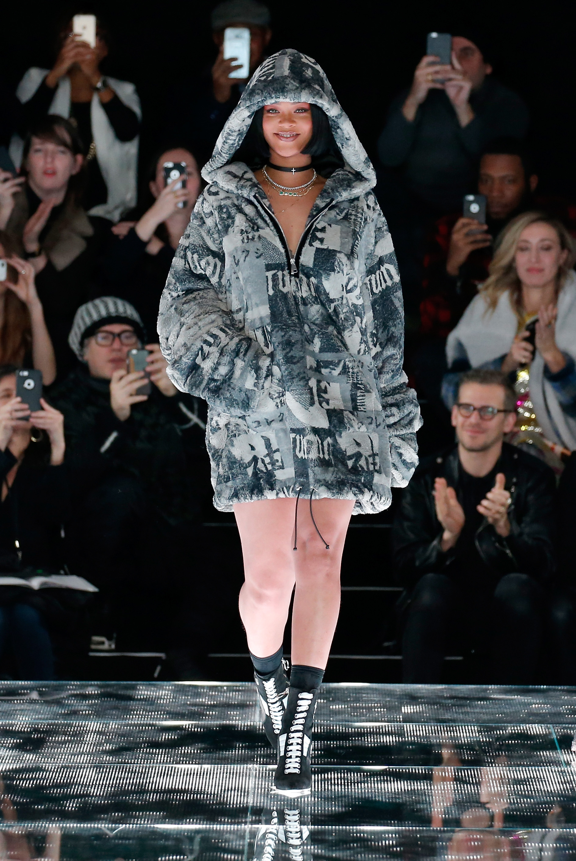 PUMA by Rihanna AW16 Collection Premieres at New York Fashion Week ... d4ded9a296