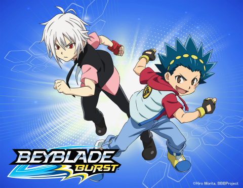 Sunrights, Inc. and d-rights, Inc. have joined with global play company Hasbro, Inc. to relaunch the legendary BEYBLADE franchise.(Graphic: Business Wire)