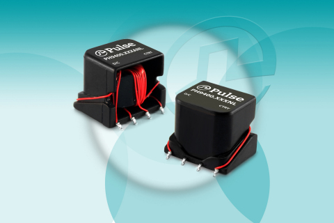 The PH9400 Surface Mount, High Isolation Gate Drive Transformer Series from Pulse Electronics Power BU. (Photo: Business Wire)