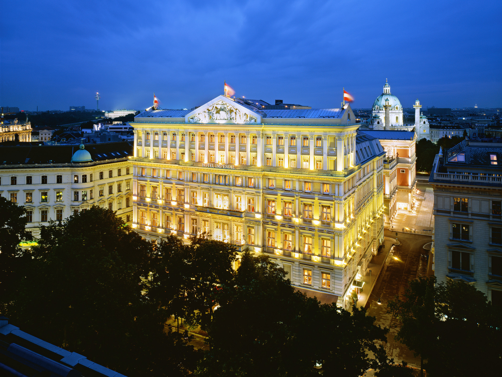 Starwood Hotels Resorts S Hotel Imperial A Luxury Collection Vienna Business Wire