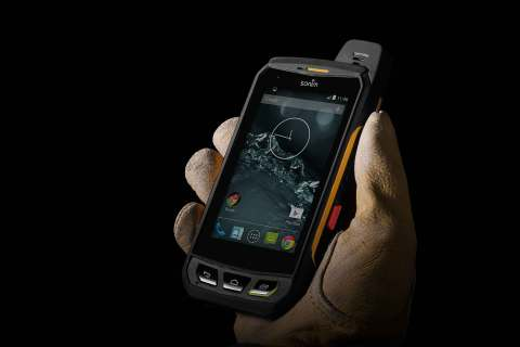 Sonim's ultra-rugged smartphones are specifically built for users who work in extreme environments. Sonim smartphones are fully water and dust proof and resistant to drops onto concrete from two meters. (Photo: Business Wire)