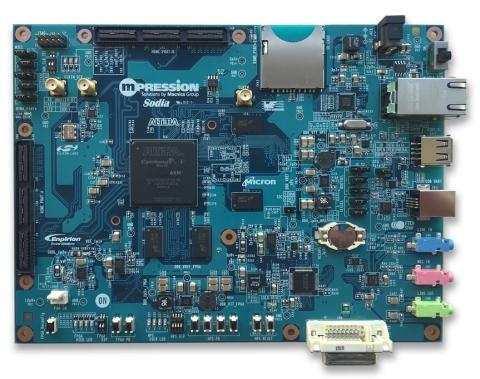 Mpression Sodia Board picture (Photo: Business Wire)