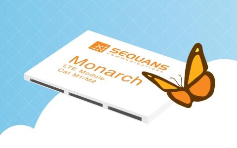 Sequans Monarch LTE Platform (Graphic: Business Wire)
