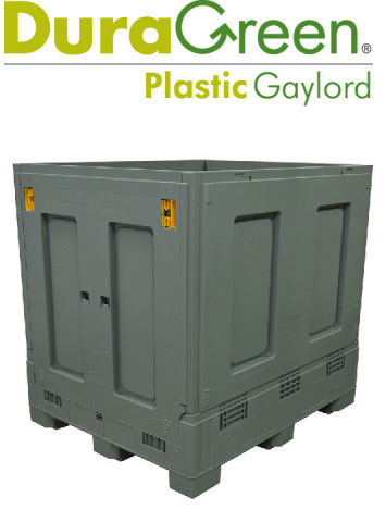 New DuraGreen Plastic Gaylord from RPP Containers (Photo: Business Wire)