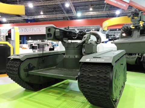 THeMIS ADDER is exhibited at the Singapore Airshow 2016 from 16 – 21 February 2016. (Photo: Business Wire)