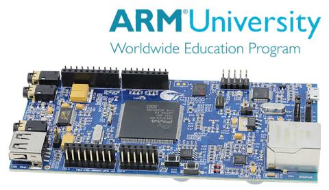 ARM University Program Digital Signal Processing (DSP) Education Kit with Cypress FM4 Starter Kit (Photo: Business Wire)