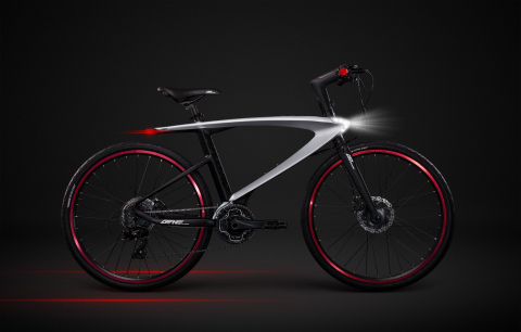 The LeEco Super Bike is a connected device on wheels that combines state-of-the-art software and hardware offering riders a futuristic transportation experience. (Photo: Business Wire)