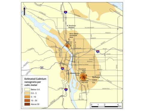 Keller Rohrback L.L.P. is investigating potential claims on behalf of residents and businesses in Portland affected by high levels of airborne toxins from art glass manufacturers. (Graphic: Business Wire)