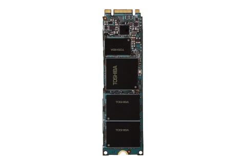 東芝:15nm TLC NAND搭載のクライアント向けSSD「SG5シリーズ」M.2 2280タイプ (写真:ビジネスワイヤ)