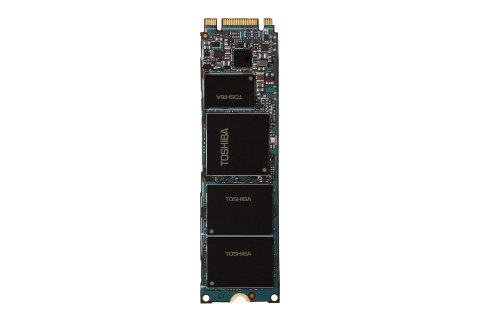 "Toshiba: 15nm TLC NAND ""SG5 Series"" Client SSD M.2 2280-type (Photo: Business Wire)"