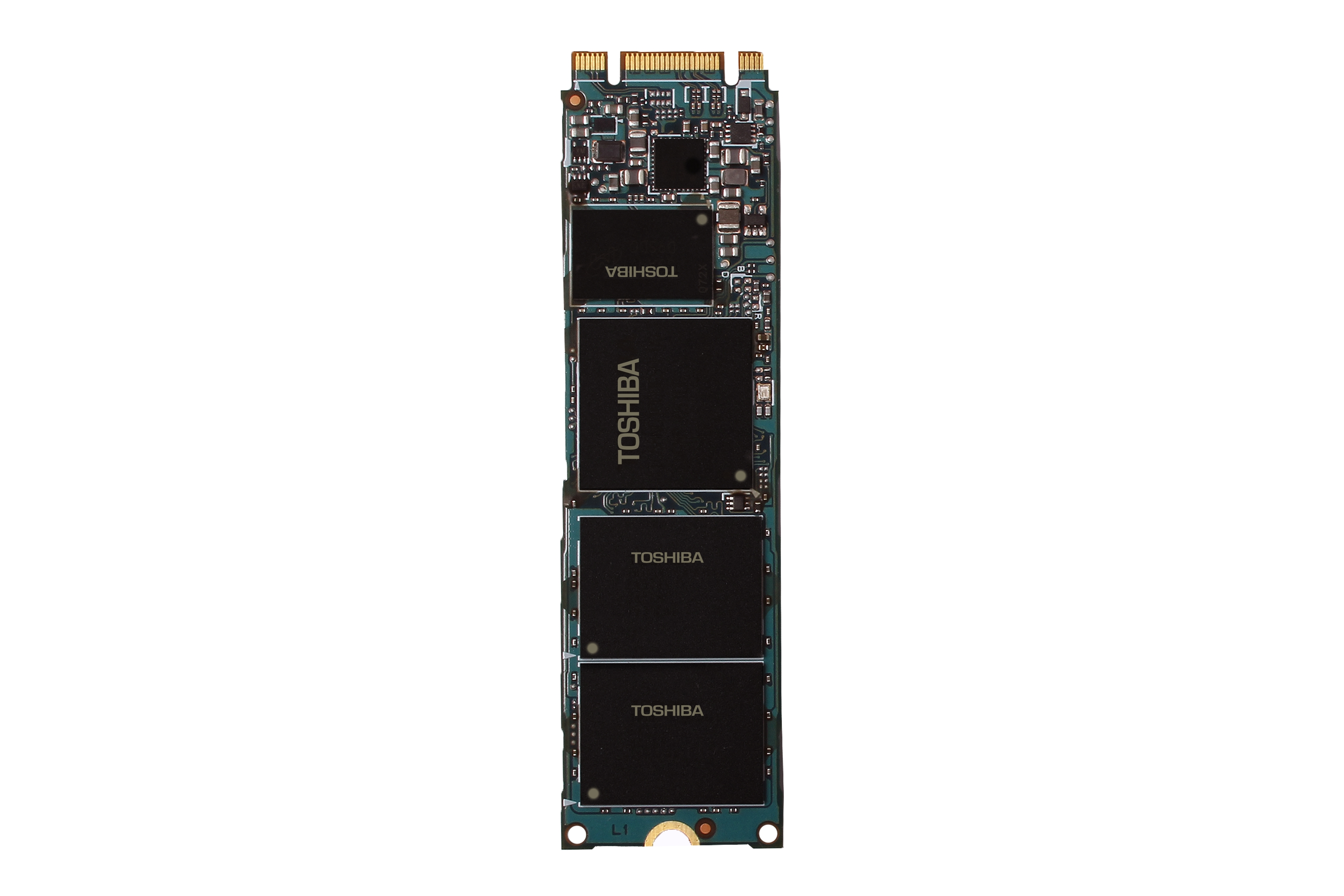 """Toshiba: 15nm TLC NAND """"SG5 Series"""" Client SSD M.2 2280-type (Photo: Business Wire)"""