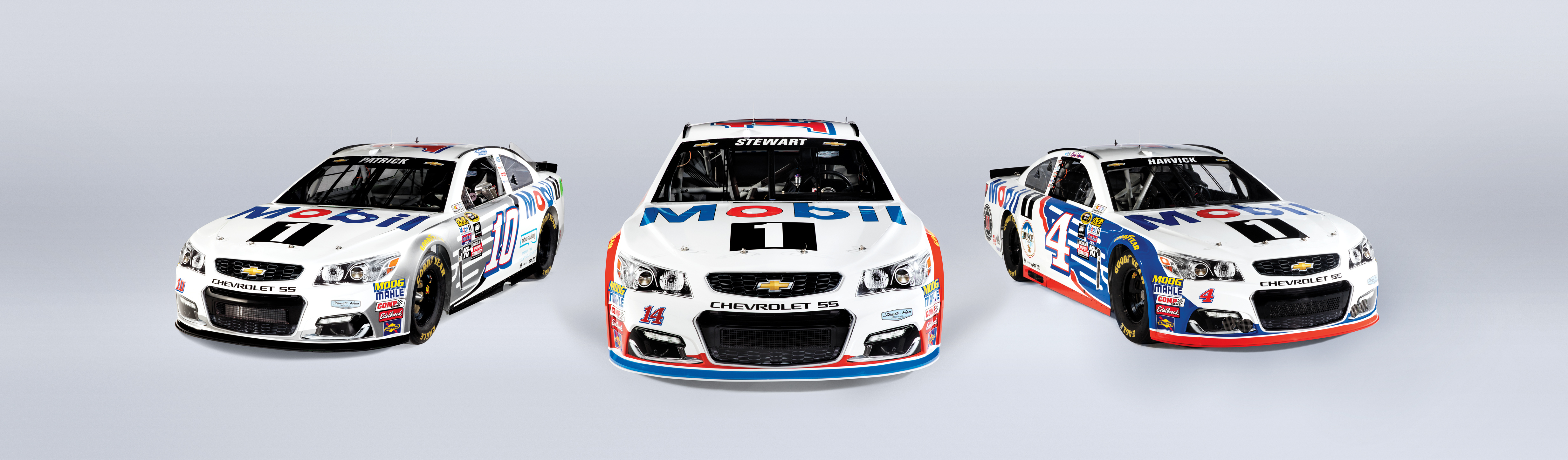 Mobil Going Three Wide With Stewart Haas Racing In