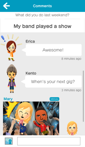 Miitomo is a free-to-start social experience that lets you spark conversations with your friends in a whole new way and uses Nintendo's Mii characters. (Photo: Business Wire)