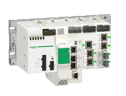 Schneider Electric's Modicon M580 High End Programmable Automation Controller (Photo: Business Wire)
