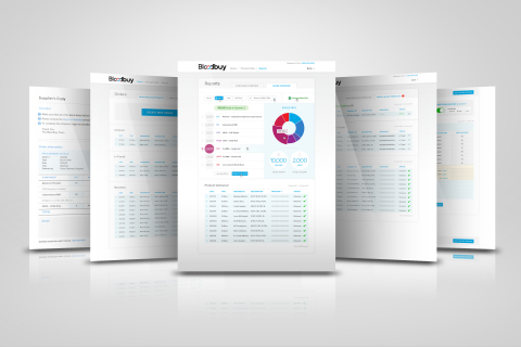Bloodbuy cloud-based software application (Photo: Business Wire)