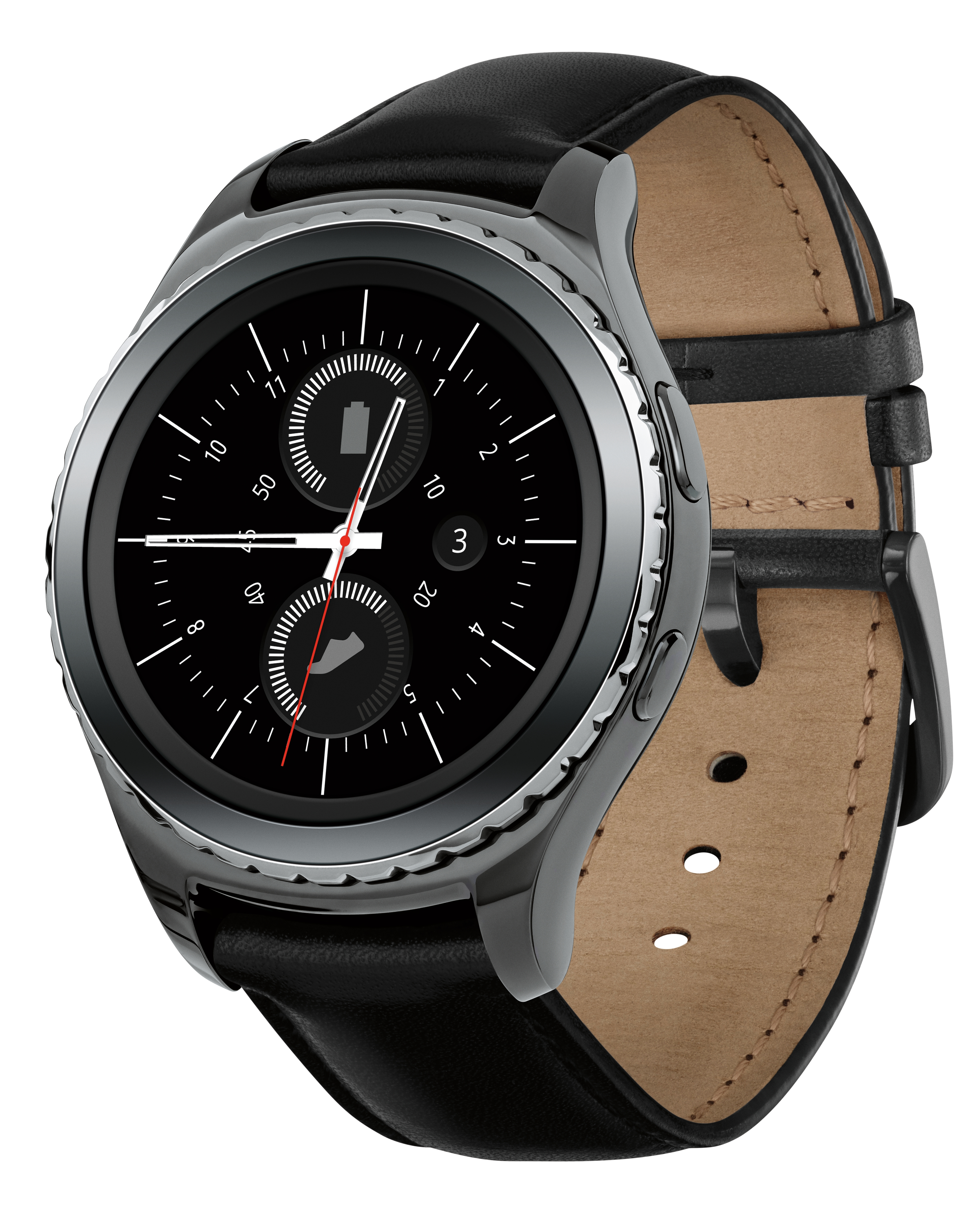 The Samsung Gear S2 classic 3G/4G will be available on select major wireless carriers beginning March 11, 2016. (Photo: Business Wire)