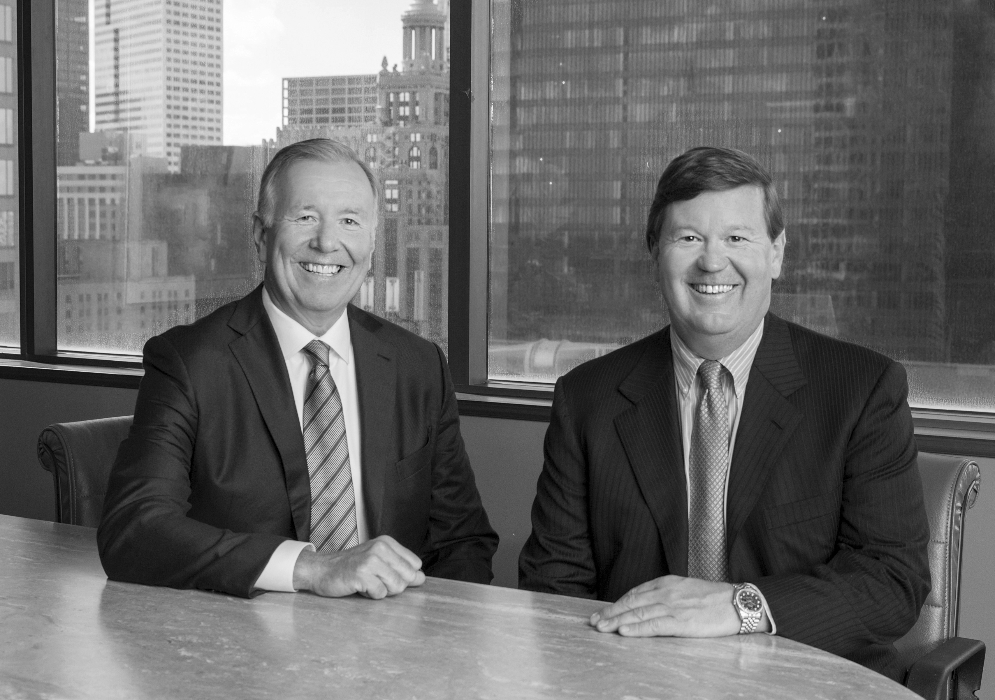 Ed Blizzard and Scott Nabers, Partners of Blizzard & Nabers, LLP (Photo: Business Wire)