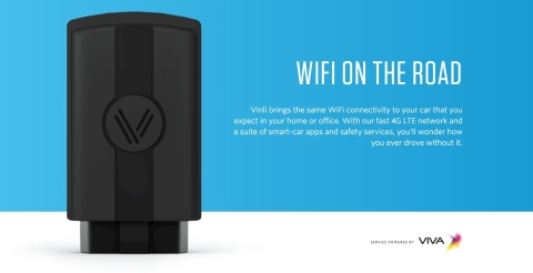 Vinli, the Dallas-based connected car platform, with 4G LTE service powered by T-Mobile in the Unite ...