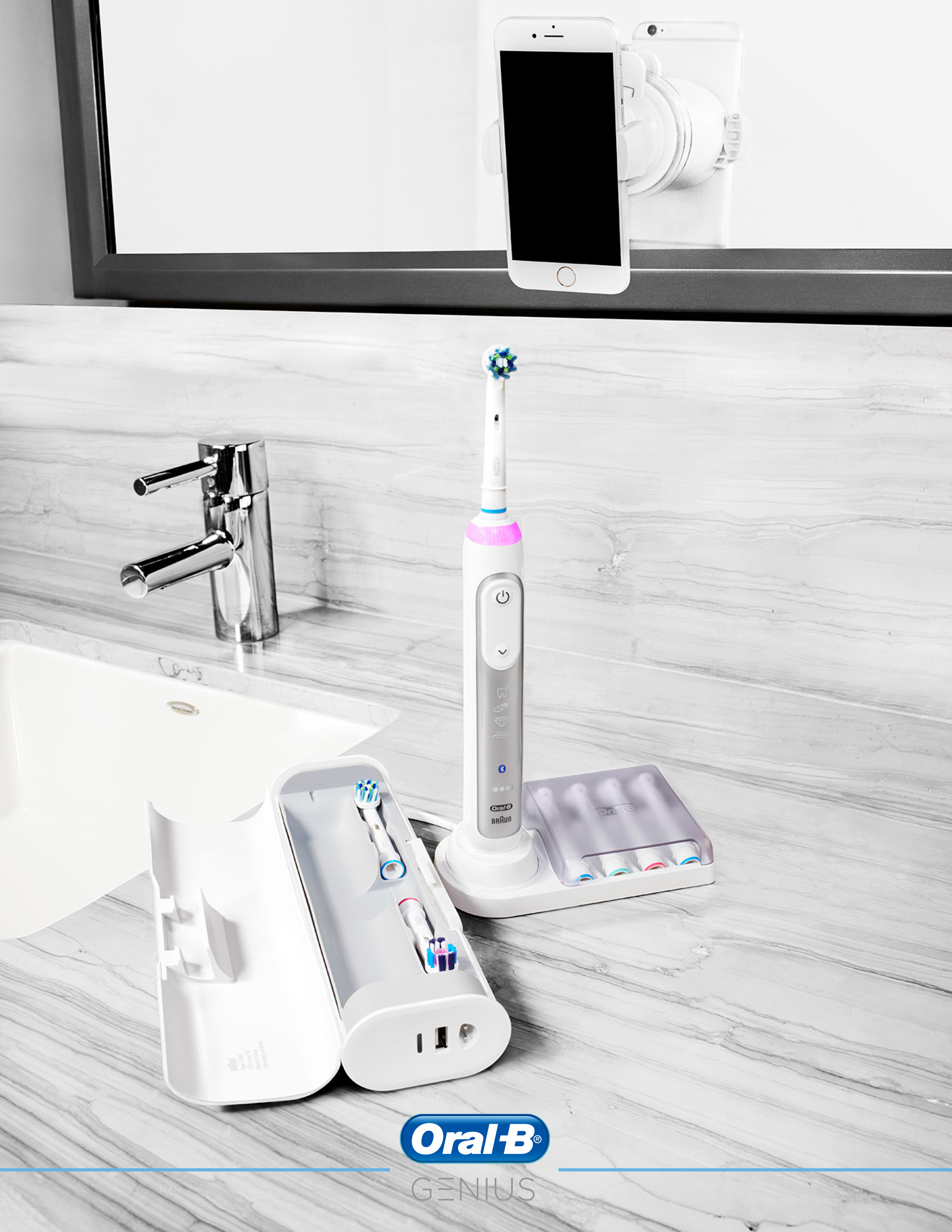 So Smart, It's GENIUS – Oral-B Unveils the World's First
