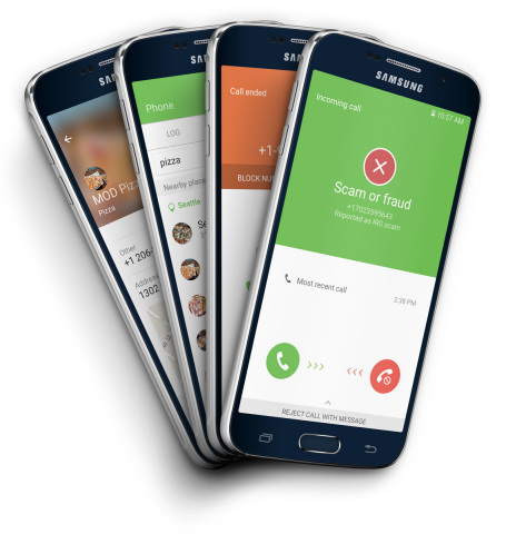 Whitepages Partners with Samsung to Bring its Leading Caller Identification and Spam Detection Service to the Galaxy S7  (Photo: Business Wire)