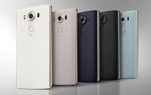 LG V10(TM) smartphone, Source: LG