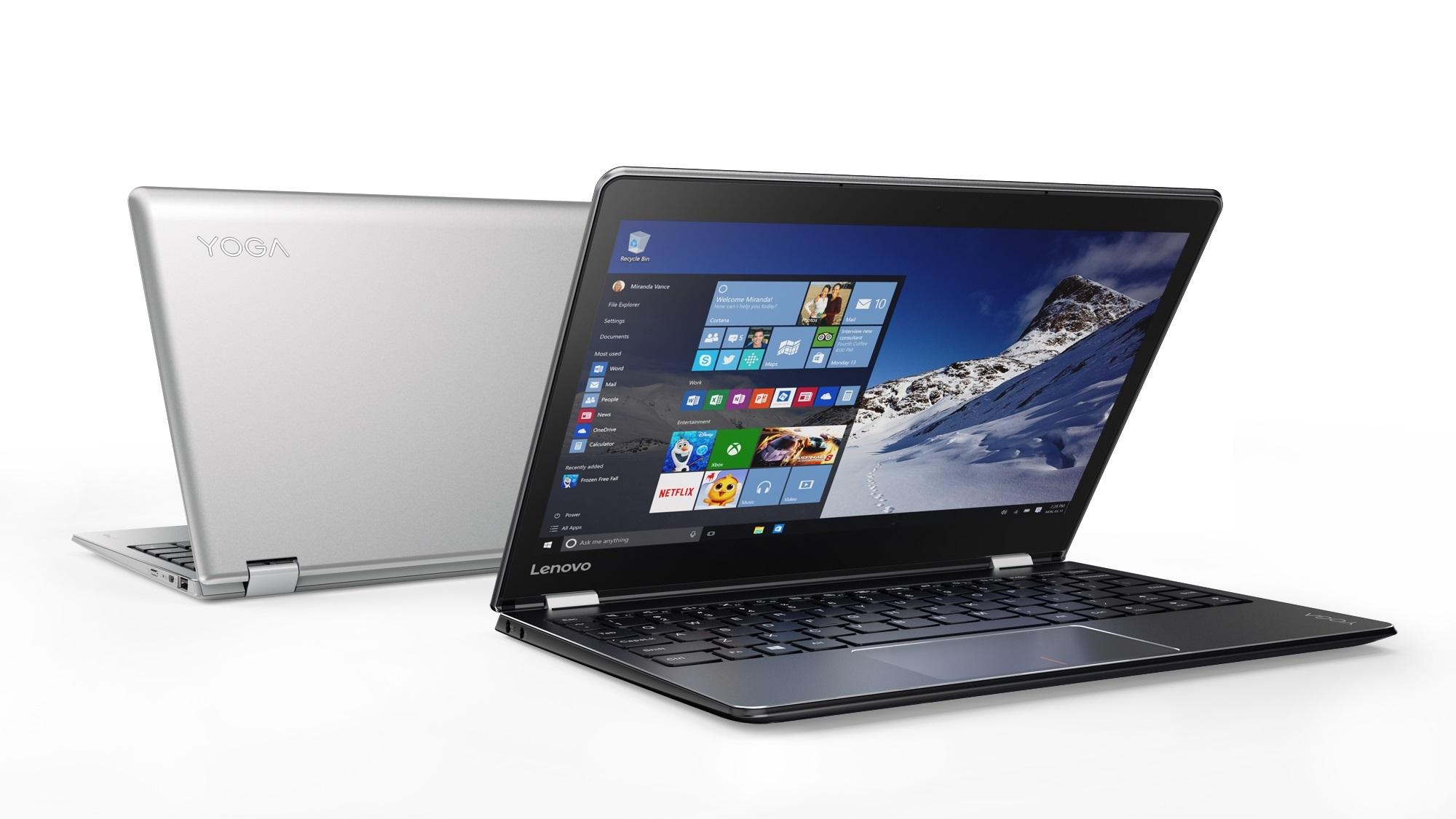 Lenovo™ lança novo tablet pronto para viagem com Windows® 10