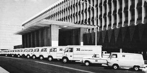 The Miami Herald fleet in the 1960s. (Photo: Business Wire)